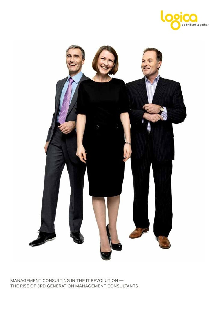 ManageMent Consulting in the it revolution — the rise of 3rd generation ManageMent Consultants