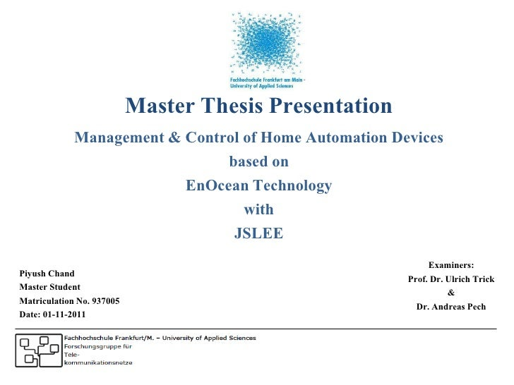 project management master thesis