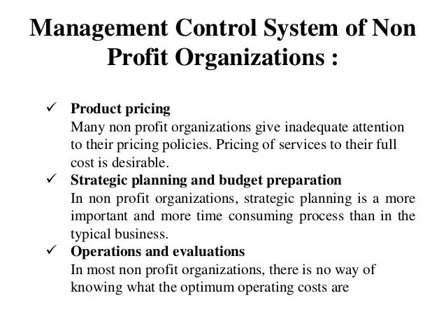 management control system essay The second essay investigates the empirical impact of the strategic uncertainty on the interactive use of management control systems and how this impact fluctuates according to different organizational contexts in which top-level hospital managers make decisions and control.