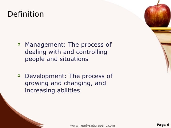 management development modern powerpoint content