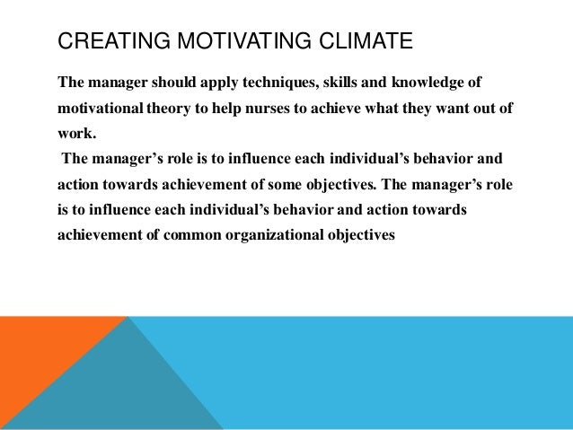 motivate or influence behavior essay The power of charisma is the influence that is generated by a leader's style or  the role of power in effective leadership center for creative leadership.
