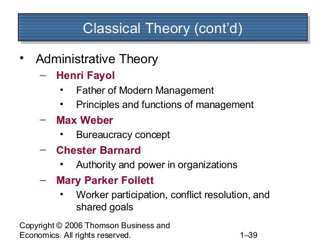 contribution of henry fayol max weber and fredrick taylor to modern management Study of fayol and taylor  science of management the contribution of these two  influence of modern development, but fayol's principles of.