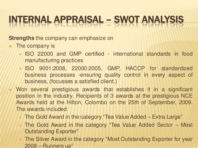 swot analysis tea plantation Unico-desa plantations bhd fundamental company report including financial, swot, competitors and industry analysis.