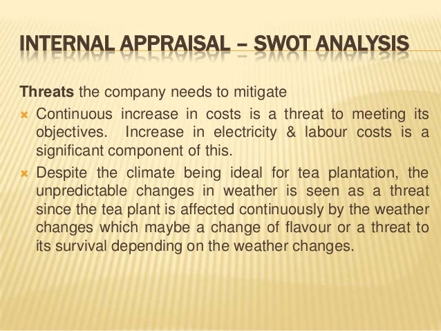 swot analysis tea plantation Genting plantations berhad fundamental company report including financial, swot, competitors and industry analysis.