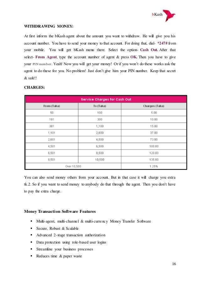Management Information System on bkash