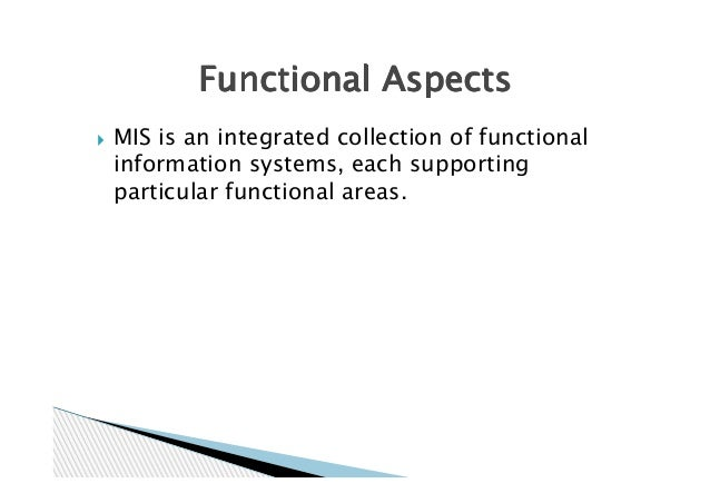 mis information systems A management information system (mis) is a set of systems and procedures that  gather data from a range of sources, compile it and present it.