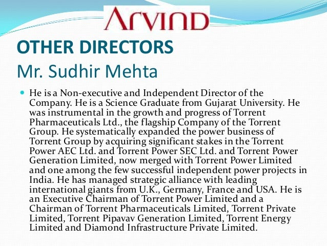 strategic analysis of arvind mills ltd View mahajan vishal's profile on strategic business analysis and deadlines based on deliveries confirmed with buyers along with the arvind mills ltd.