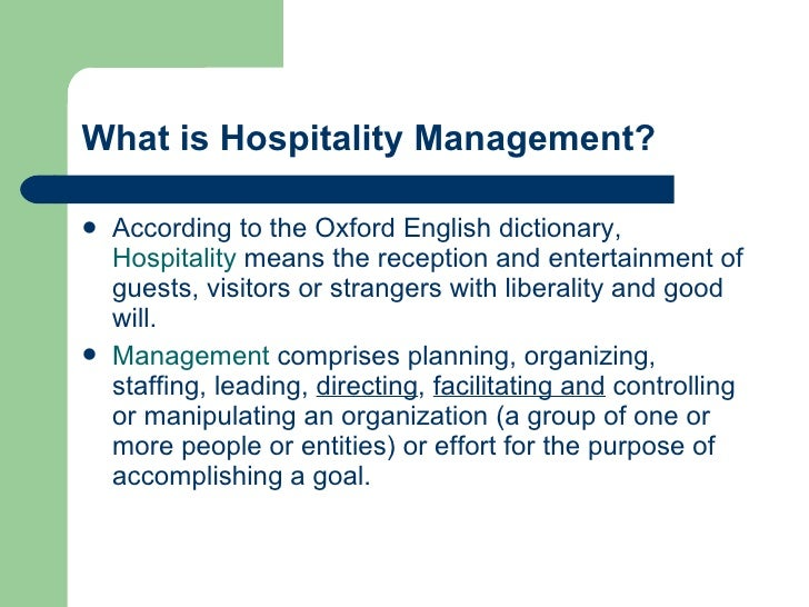 Hospitality Property Management Software