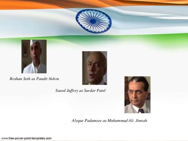 gandhi movie character analysis