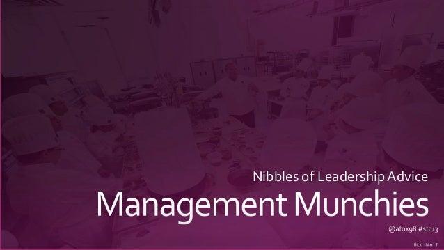 Nibbles of LeadershipAdvice