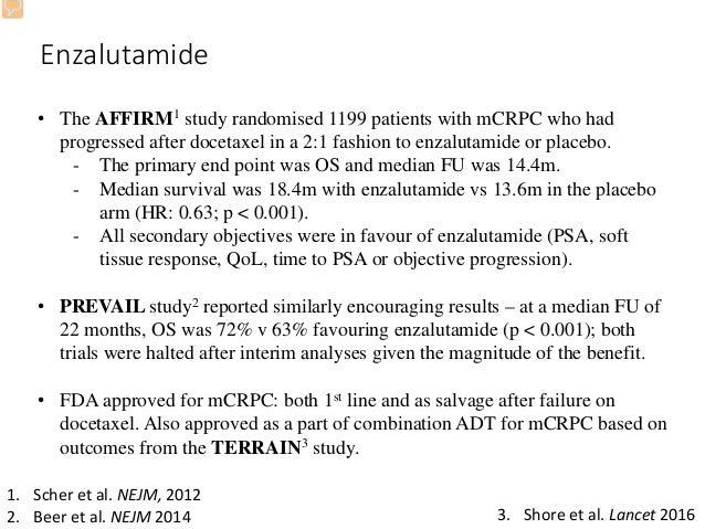 Enzalutamide in Metastatic Prostate Cancer before ...