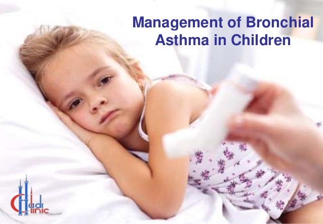 Management of Bronchial Asthma in Children