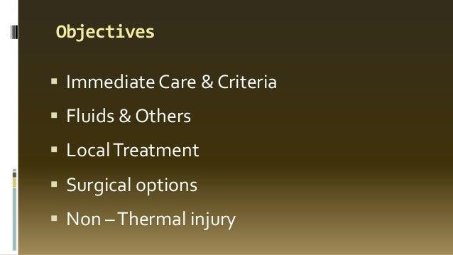 Management of burns    Slide 3