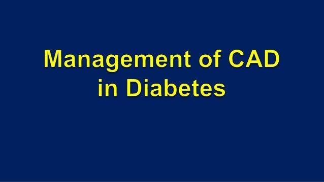  Leading cause of death in both type1 and type2 diabetes mellitus.  CV disease equivalent ( mortality in diabetics same ...