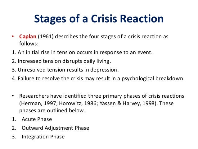 Crisis Care Counseling