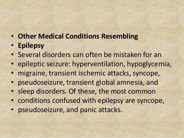 Epilepsy and hypoglycemia