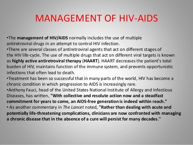 Management Of Hiv Proper
