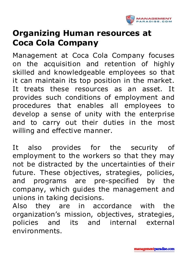 human resources and coca cola 5 coca-cola enterprises reviews a free inside look at company reviews and salaries posted anonymously by employees.