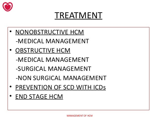 Image result for treatment of hocm