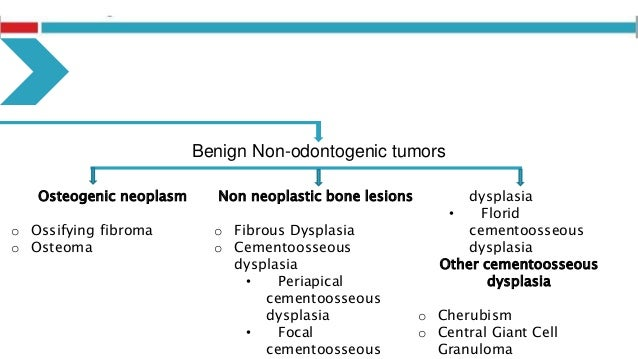Treatment Planning  Diagnosis confirmed by biopsy  Imaging for assessment of extension  For benign lesions; • Surgical ...