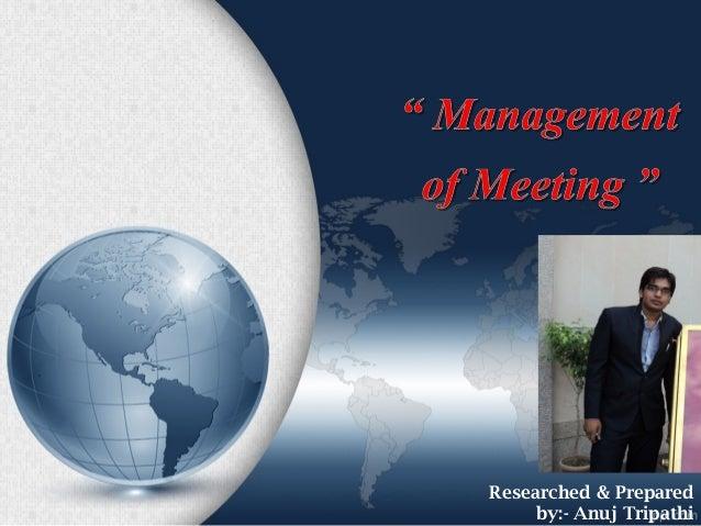 Researched & Preparedby:- Anuj Tripathi