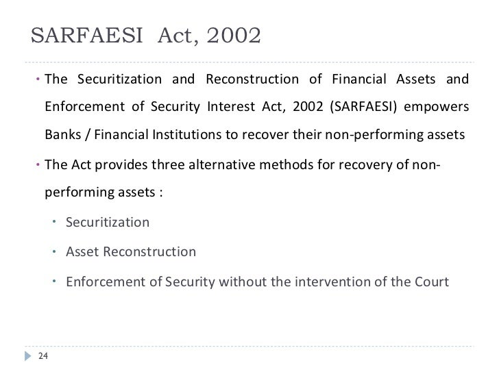 the securitization and reconstruction of financial Reportable in the supreme court of india criminal appellate jurisdiction criminal appeal nos 338-340 of 2011 (arising out of slp (crl) nos4436-4438 of 2009) kanaiyalal lalchand sachdev.