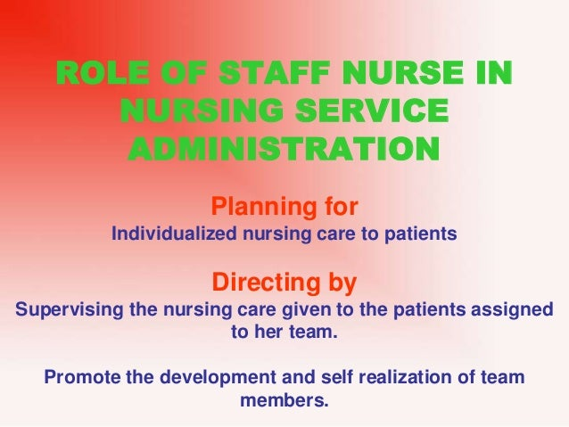 nurse manager or nurse administrator job description