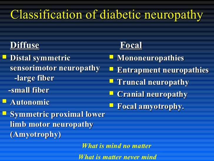 Management Of Painful Diabetic Neuropathy In This Millennium