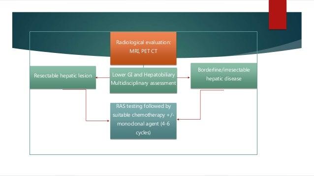 Radiological evaluation: MRI, PET CT Borderline/irresectable hepatic disease Lower GI and Hepatobiliary Multidisciplinary ...