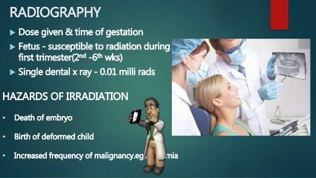 Dental x rays during pregnancy