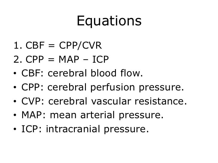 mean arterial pressure calculation pdf