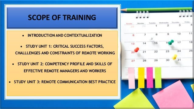 Management of Remote Workers_Best Practice principles and processes Slide 3