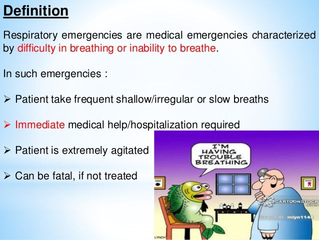 how to teach about respiratory emergencies