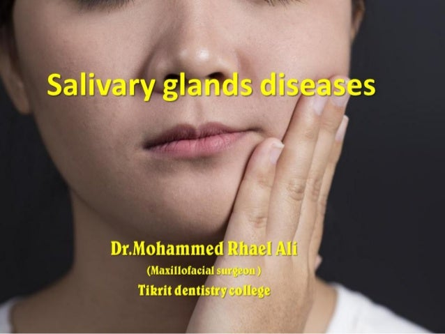 Major salivay glands
