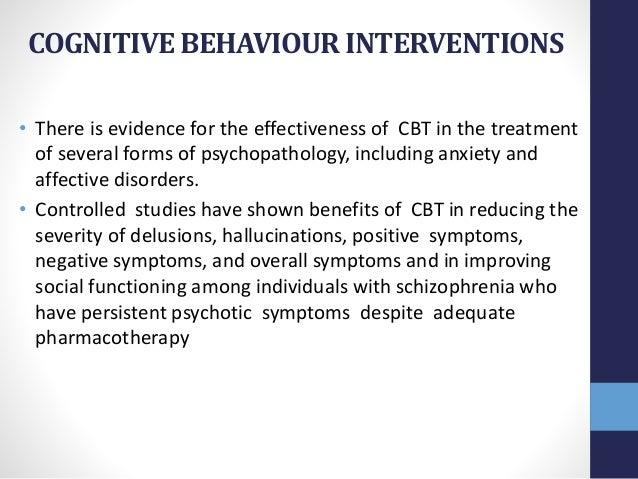 Management of schizophrenia