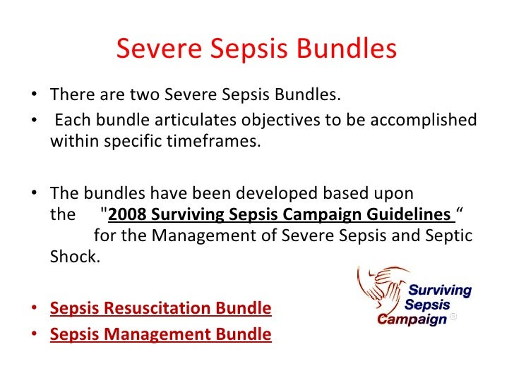 the management of severe sepsis and septic shock Infectious disease/review article severe sepsis and septic shock: review of the literature and emergency department management guidelines h bryant nguyen, md, ms.