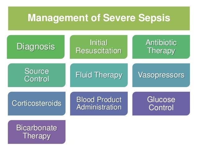 the management of severe sepsis and septic shock Surviving sepsis campaign (ssc) guidelines for management of severe sepsis  and septic shock dellinger rp, carlet jm, masur h, gerlach h, calandra t,.