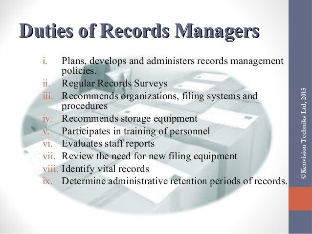 Administering Organization Filing Centres (Registries)