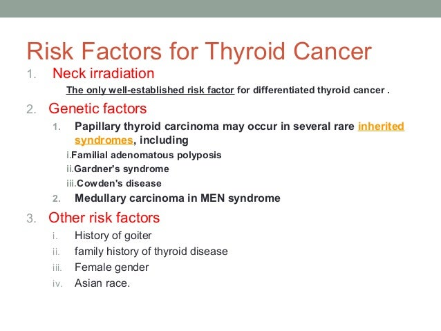Medullary thyroid carcinoma prognosis grade