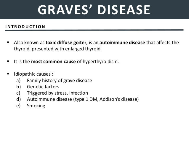 Management Of Thyroid Diseases Emergencies