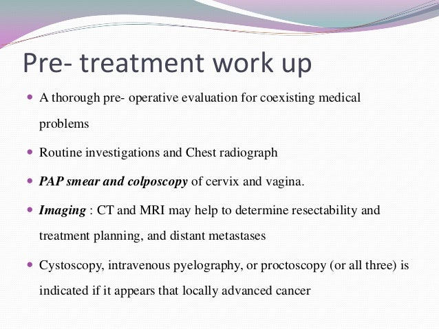Surgical treatment of microinvasiv cancer of the vulva