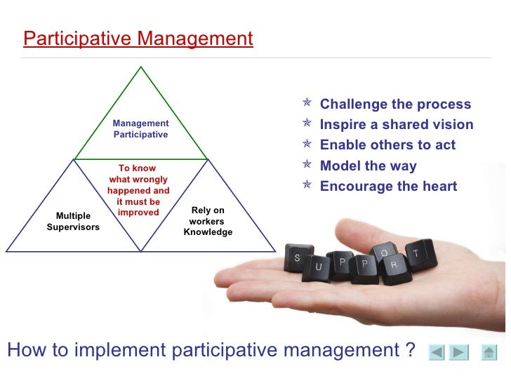 participative management Participative management - download as word doc (doc), pdf file (pdf), text file (txt) or read online.