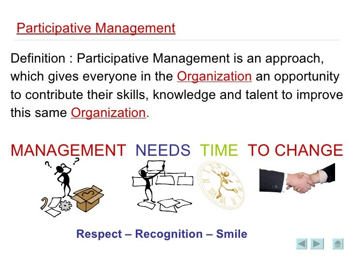 Management participative
