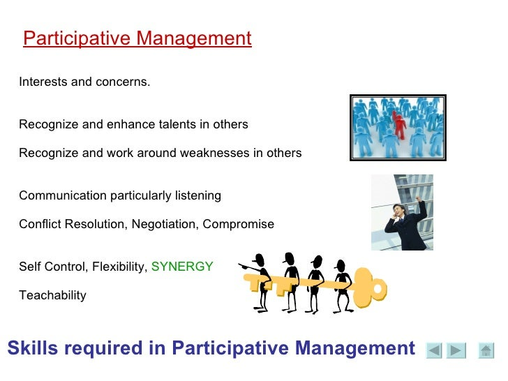 what is participative decision- making