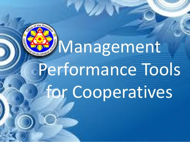 Management Performance Tools for Cooperatives