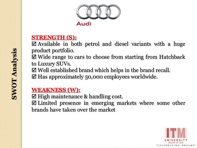 Audi : Production