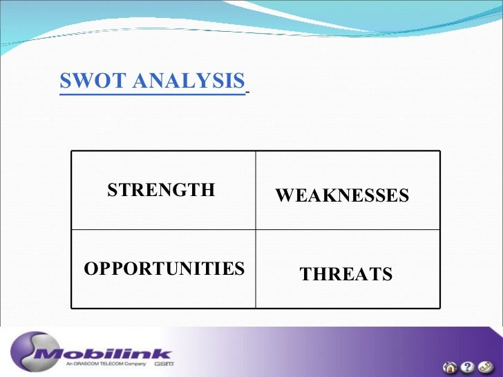 mobilink competitor analysis The analysis suggests that leader behavior affects satisfaction directly and  performance  for organizational effectiveness for gaining competitive  advantage  middle and lower managers working in the telecom industry ( mobilink, ufone,.