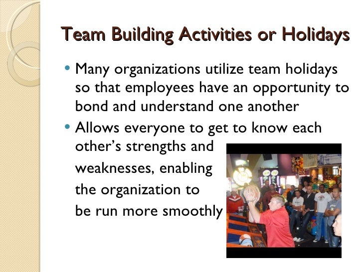 Team Building in Sports