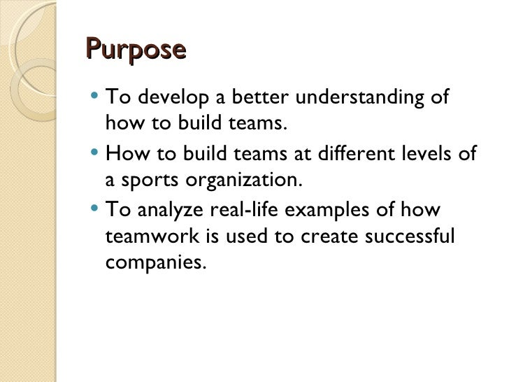 essay on teamwork in sports