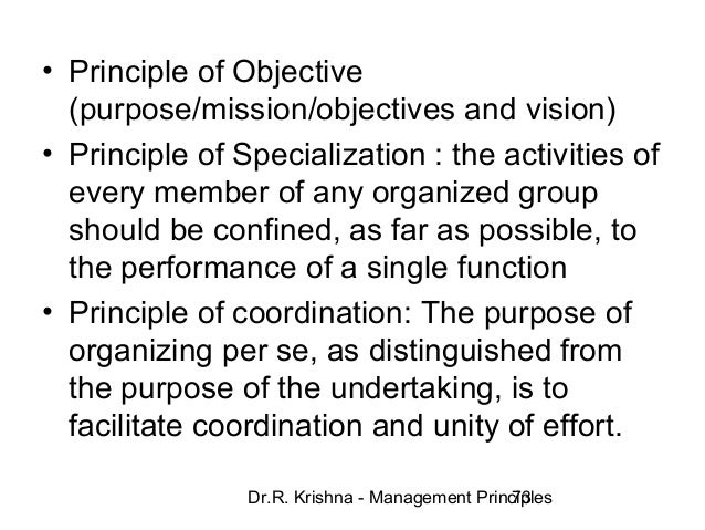 lyndall urwicks 10 principles to management Discovering management  free statement of participation on completion more about this course course description course content course reviews you can start this course right now without signing-up  111 classical management theory (fayol and urwick) 112 a human relations approach (follett and likert.